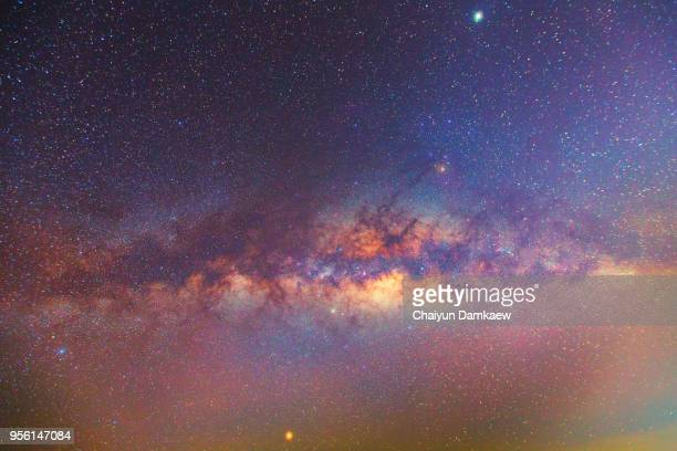 milky way galaxy with stars and space dust in the universe - celebrities stock pictures, royalty-free photos & images