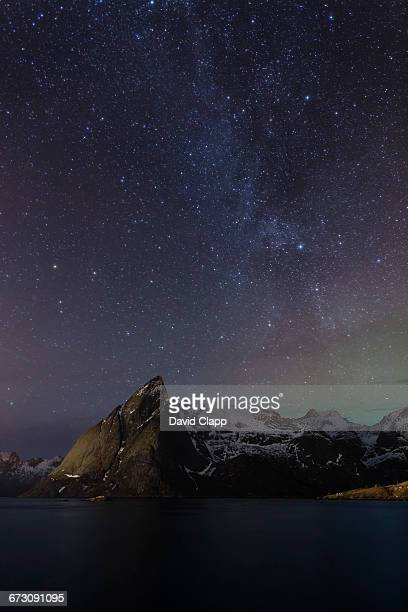 Milky Way, Hamnoy, Lofoten Islands, Norway