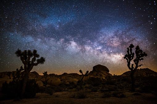 Milky Way in the desert 913059360