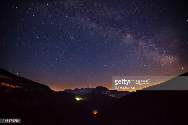Milky Way 山脈