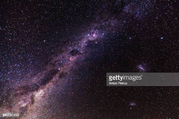 milky way. night photo - eternity stock pictures, royalty-free photos & images
