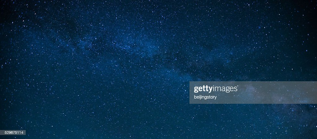 Milky Way Night Sky : Stock Photo