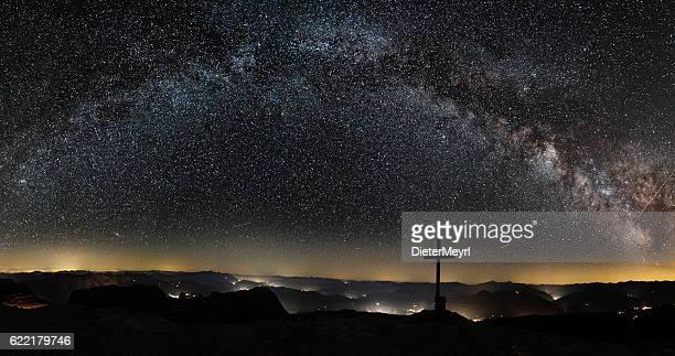銀河系山の頂上にはアルプス Hochkönig