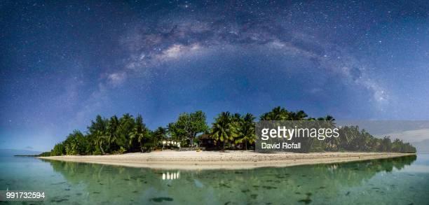 Milky way over Aitutaki