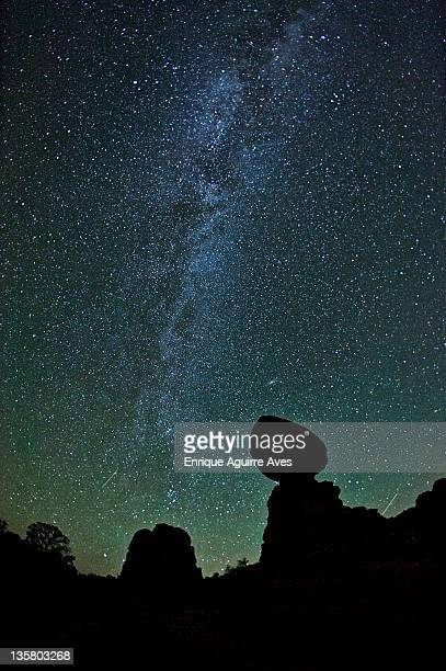 Milky Way over Balanced Rock, Arches NP, UT