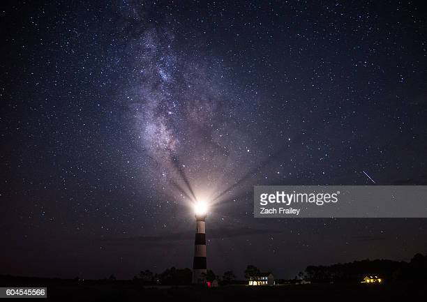 Milky Way over Bodie Island Lighthouse