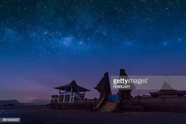 Milky way over Luhur Poten