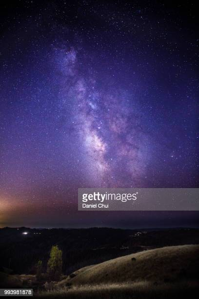 Milky Way over Monte Bello State Park, California