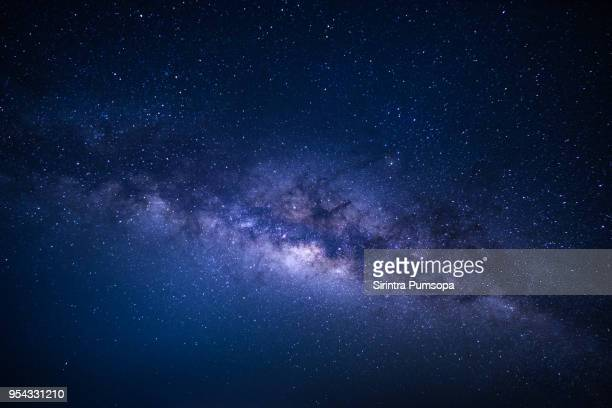 milky way over phu chi fa mountain in chiang rai province, thailand - star space stock pictures, royalty-free photos & images