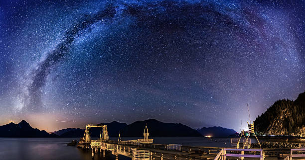 Milky Way over Porteau Cove