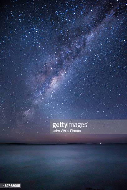 Milky Way over Southern Ocean. South Australia
