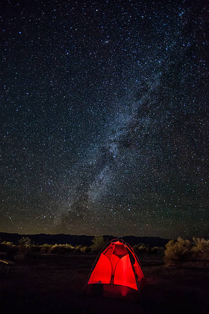 Milky Way Over Stovepipe Wells Wall Art