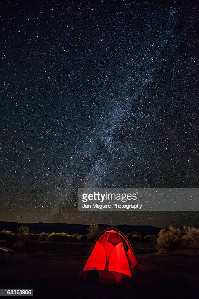 Milky Way over Stovepipe Wells