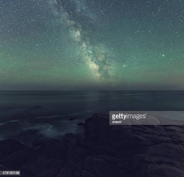 Milky Way over the Atlantic Ocean