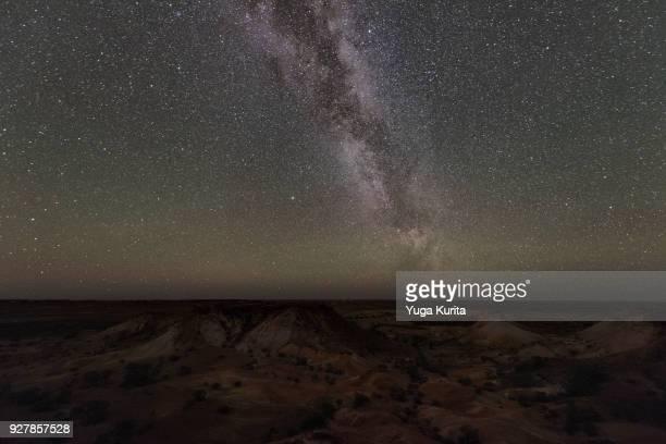 Milky Way over the Kanku-Breakaways Conservation Park