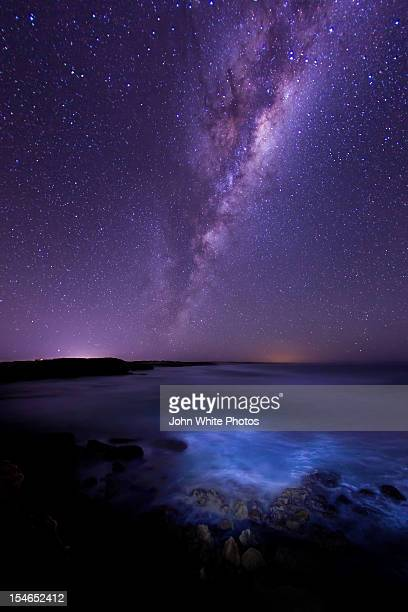 Milky Way over the Southern Ocean. Australia.