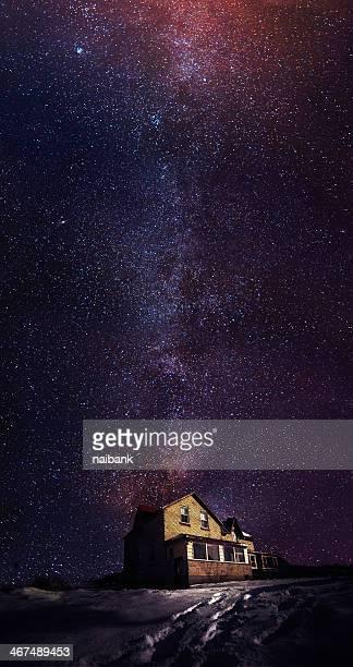 Milky way over Wiarton