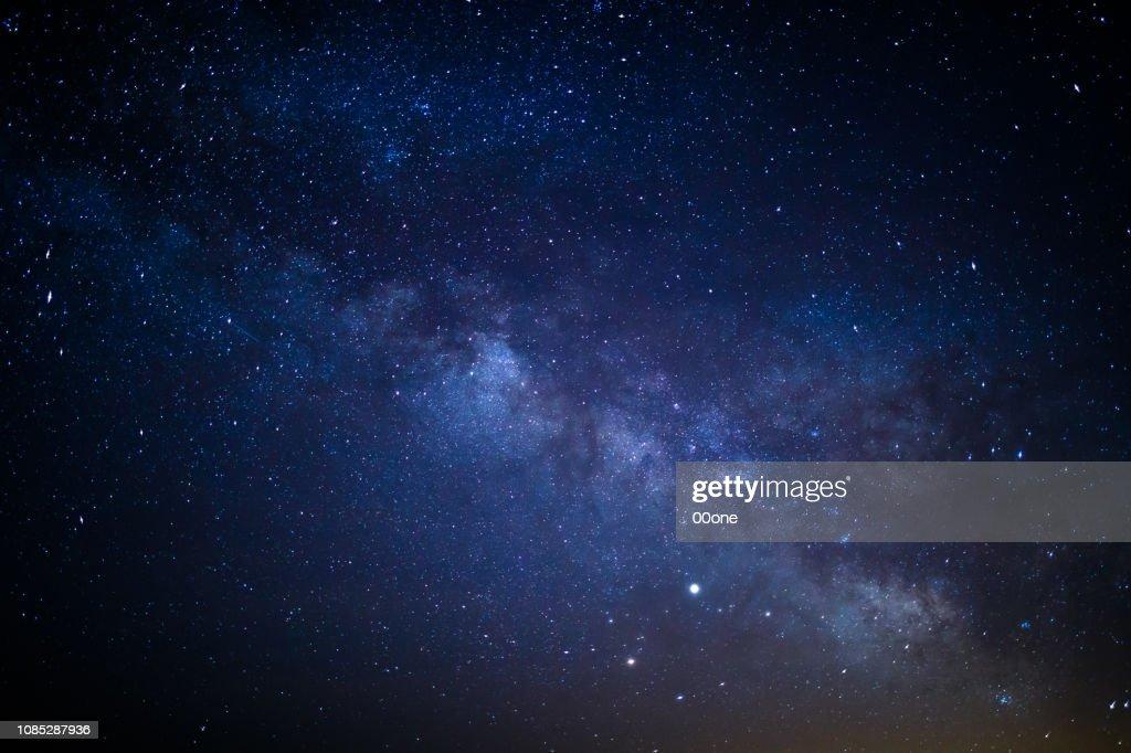 Via Láctea : Foto de stock