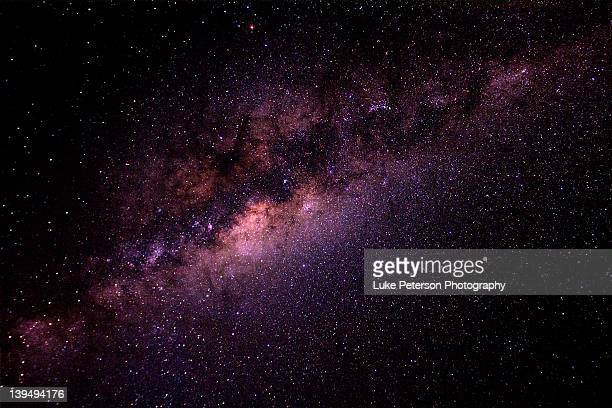 milky way - galaxy stock pictures, royalty-free photos & images