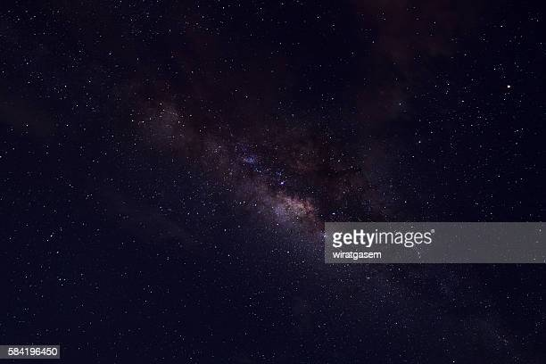 milky way - wiratgasem stock photos and pictures