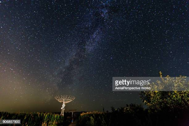milky way - national radio astronomy observatory stock pictures, royalty-free photos & images