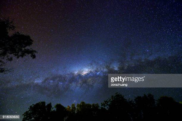 milky way - southern hemisphere stock photos and pictures