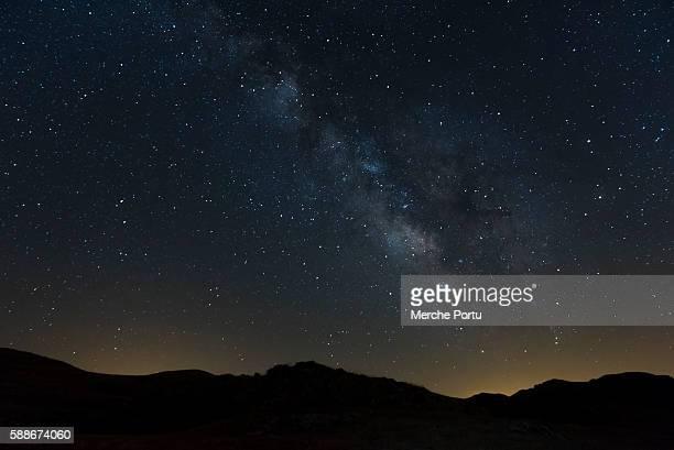 Milky way. Starry sky