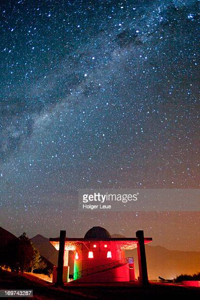 Milky Way stars above Mamalluca Observatory