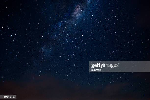 milkyway seen from the southern skies - nebula stock pictures, royalty-free photos & images
