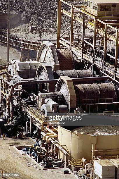 Mill at Bolivian Gold Mine