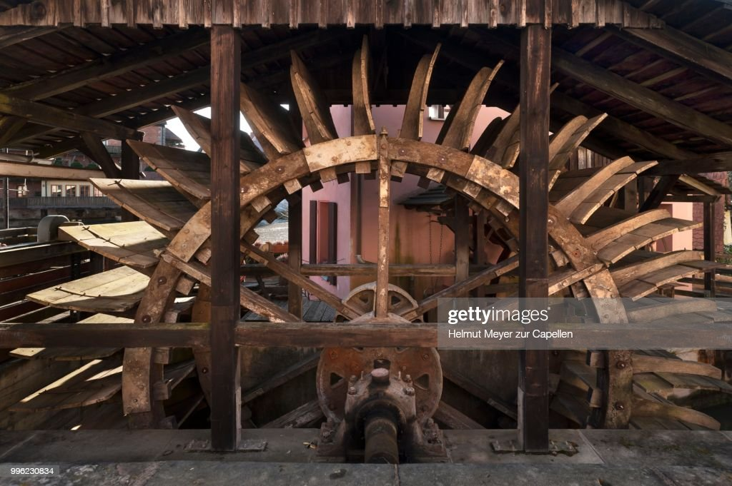 Mill Wheel Of The Grinding 1541 Lauf An Der Pegnitz Middle Franconia