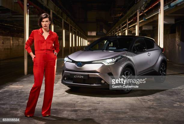 Milla Jovovich actress and model starred in the worlds first ever drive through immersive theatre experience to launch the new Toyota CHR on February...
