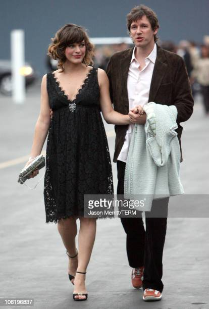 Milla Jovovich and Paul W S Anderson during 2007/2008 Chanel Cruise Show Presented by Karl Lagerfeld at Hangar 8 in Santa Monica California United...