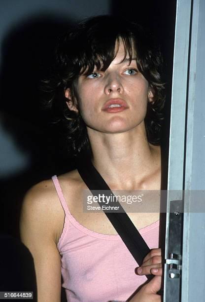 Milla Jovovich at Mercer Street New York September 14 1999