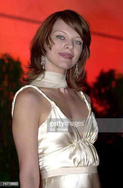 Milla Jovovich at the Palais des Festivals in Cannes France