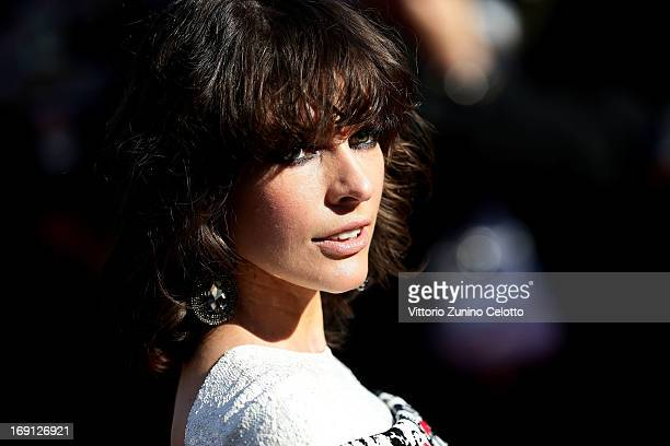 Milla Jovovich attends the Blood Ties Premiere during the 66th Annual Cannes Film Festival at Grand Theatre Lumiere on May 20 2013 in Cannes France