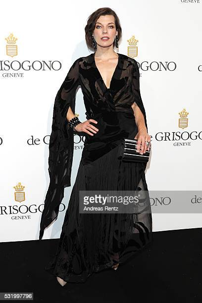 Milla Jovovich attends the De Grisogono Party at the annual 69th Cannes Film Festival at Hotel du CapEdenRoc on May 15 2016 in Cap d'Antibes France