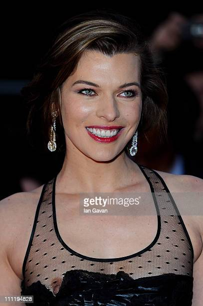 Milla Jovovich attends the Gorby 80 Gala at the Royal Albert Hall on March 30 2011 in London England The concert is to celebrate the 80th birthday of...
