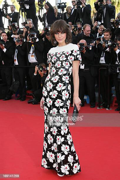 Milla Jovovich attends the Premiere of 'Blood Ties' during the 66th Annual Cannes Film Festival at the Palais des Festivals on May 20, 2013 in...