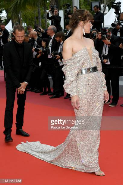 """Milla Jovovich attends the screening of """"Sibyl"""" during the 72nd annual Cannes Film Festival on May 24, 2019 in Cannes, France."""