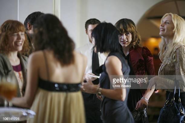 Milla Jovovich Carmen Hawk and guests