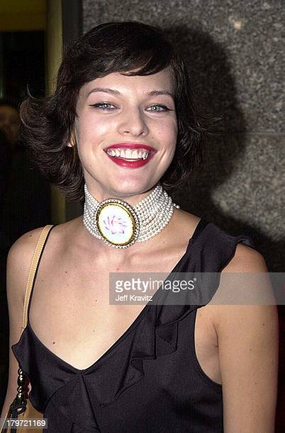 Milla Jovovich during 2000 MTV Video Music Awards at Radio City Music Hall in New York City New York United States