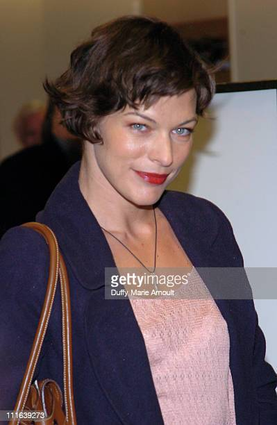 Milla Jovovich during 2006 New York Comic-Con - Day 2 - Milla Jovovich Autograph Signing and Press Conference at Jacob Javits Center in New York, New...
