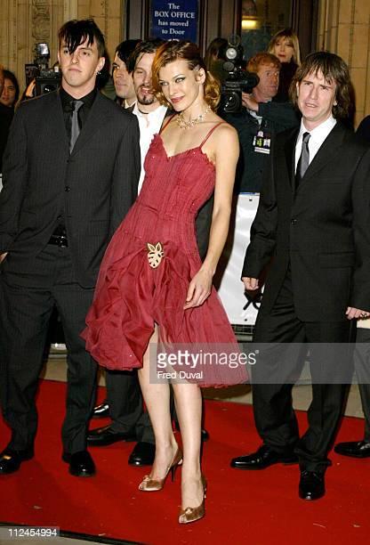 Milla Jovovich during Fashion Rocks at the Royal Albert Hall at Royal Albert Hall in London United Kingdom