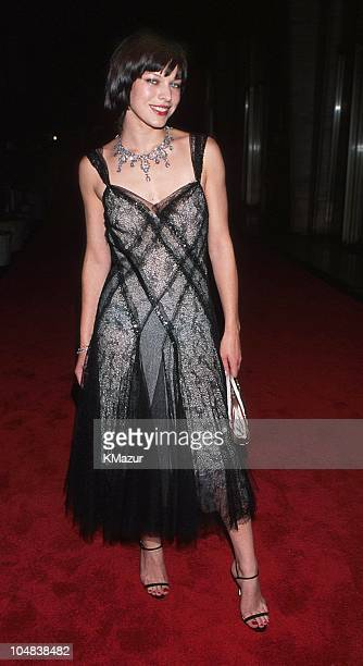 Milla Jovovich during The 19th Annual CFDA American Fashion Awards at Lincoln Center in New York City New York United States