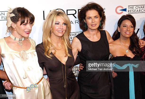 Milla Jovovich Heather Locklear Dayle Haddon and Eva Longoria