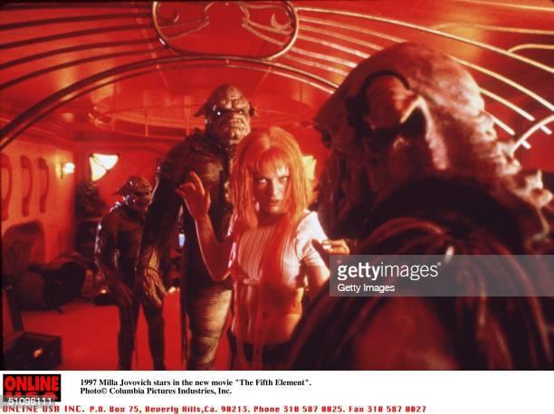 Milla Jovovich Stars In The Movie 'The Fifth Element'