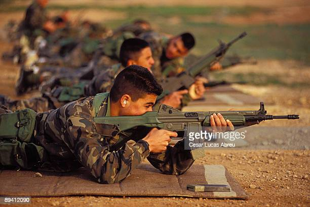 Millan Astray Barrack Melilla The Spanish Legion Practices of shot with a CETME
