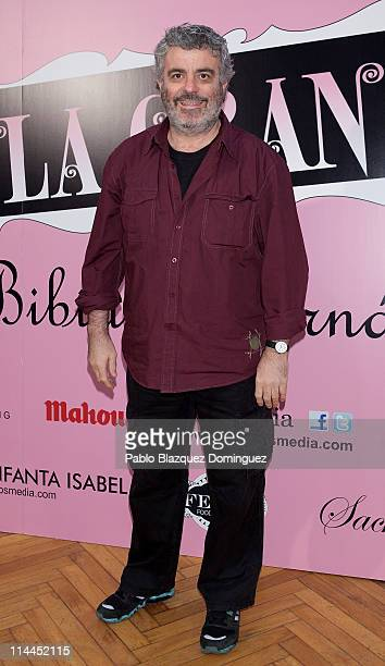 Millan Salcedo attends 'La Gran Depresion' premiere at Infanta Isabel Theatre on May 19, 2011 in Madrid, Spain.