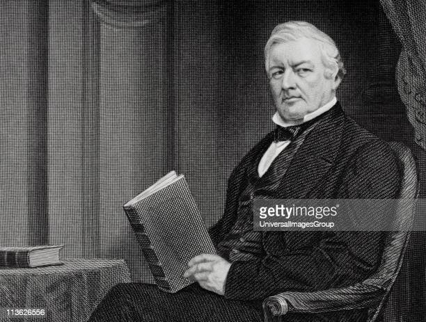 Millard Fillmore 1800 to 1874 13th president of the United States 185053 From painting by Alonzo Chappel